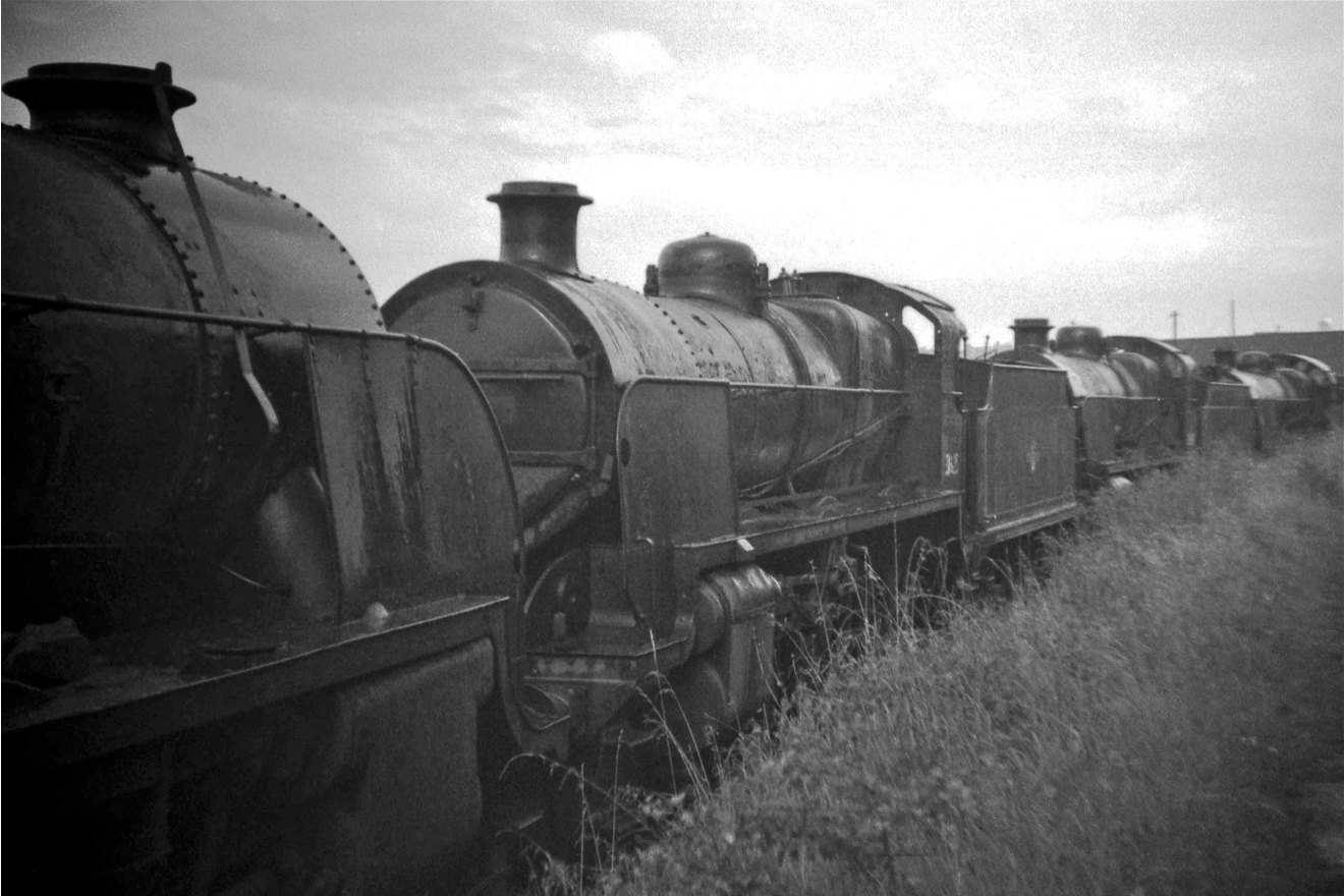 31625 at Barry around 1968