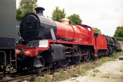 31806 painted as James the Red Engine