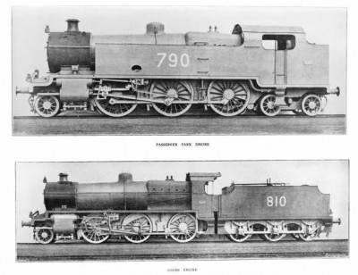 Early K class and N Class works photo Curtsey of the NRM