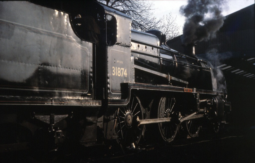 31874 on Ropley Shed