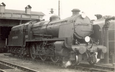 1625 During oil firing trial in 1947