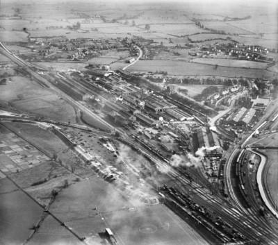 Ashford - Southern Railway Works - Aerial View 1929